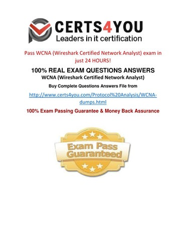 How to pass WCNA exam in first attempt? by Certs4you - issuu