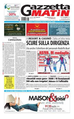 2e927d91d867c Gazzetta Matin del 9 maggio 2016 by NewsVDA - issuu