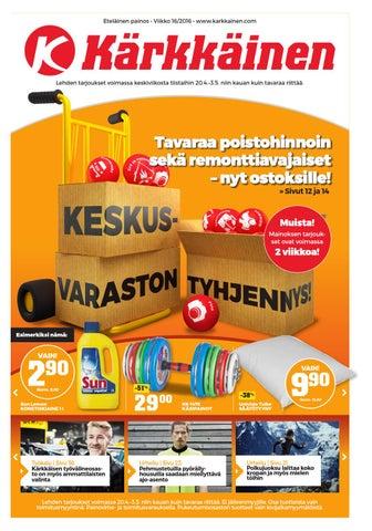 the latest cbbf4 68f91 Kärkkäisen mainos (16 2016) by Tavaratalo J. Kärkkäinen Oy - issuu