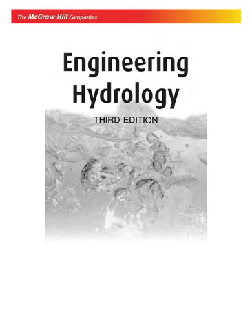 enginnering hydrology book k subramanya by mebuild issuu rh issuu com Engineering Solutions Manual Test Bank Solutions Manual