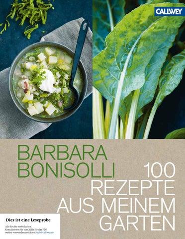 Bonisolli 100 Rezepte Aus Meinem Garten By Georg Dw Callwey Gmbh