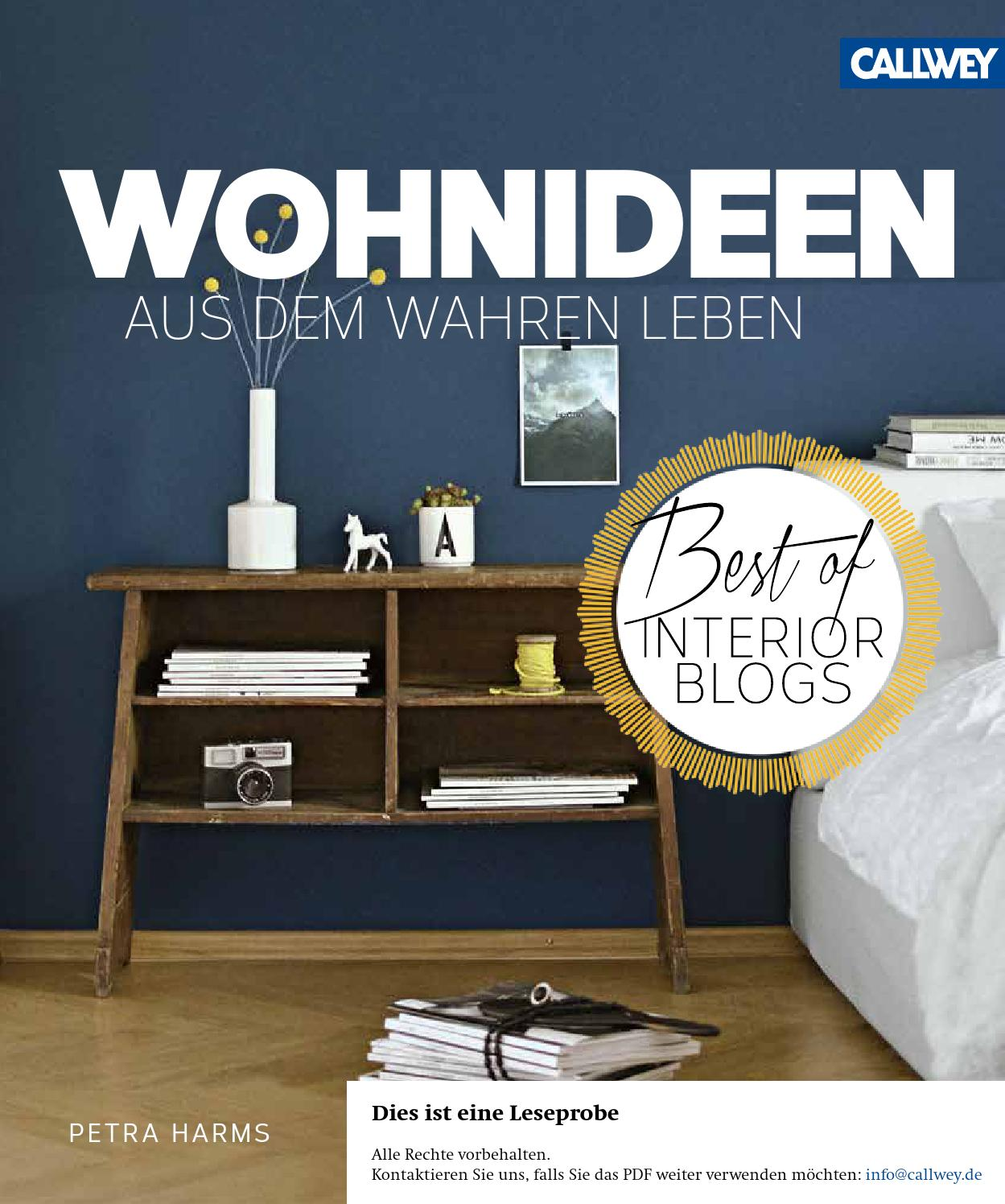 harms wohnideen aus dem wahren leben by georg d w callwey gmbh co kg issuu. Black Bedroom Furniture Sets. Home Design Ideas