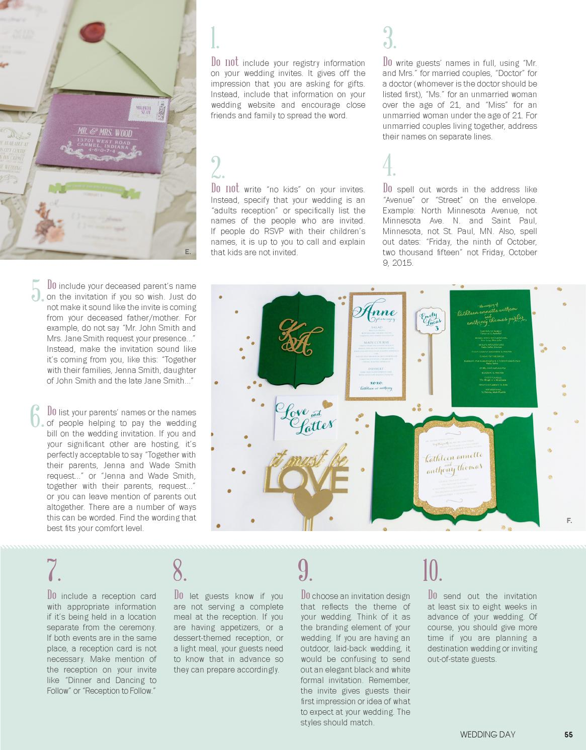 Weddingday Magazine Northern Indiana Issue 1 2016 By Life Events