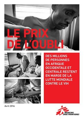 Le Prix de l oubli by Médecins Sans Frontières France - issuu b320069ea20e