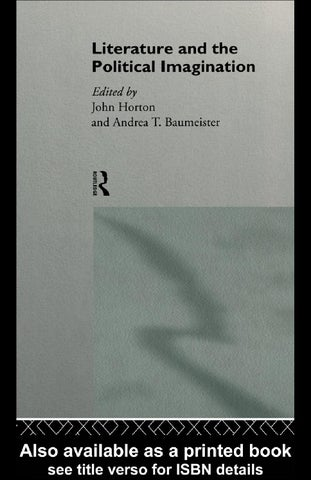 John horton literature and the political imagination 1996 by page 1 malvernweather Choice Image