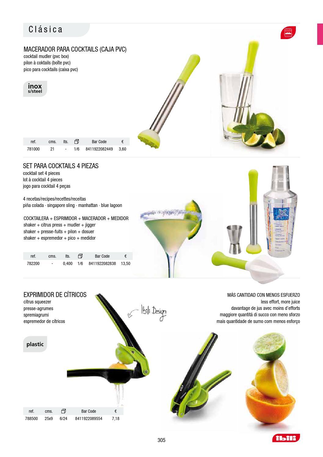Ibili 781000 Pilon /à Cocktails