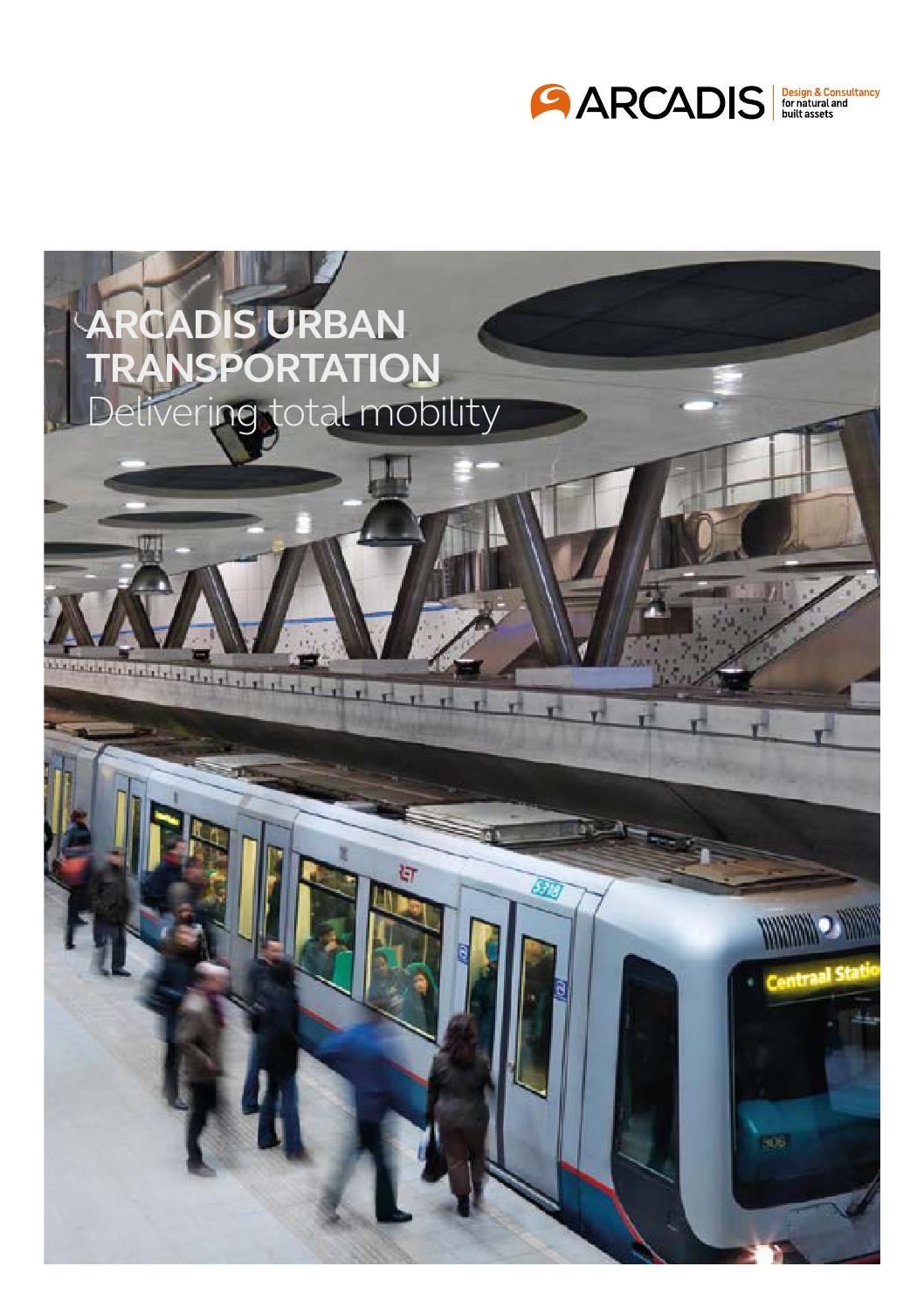 Arcadis urban transportation by arcadis uk issuu for Arcadis design and consultancy