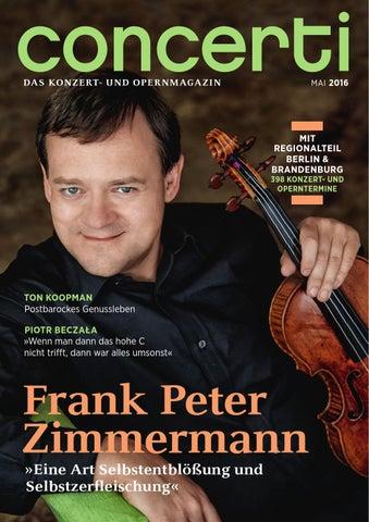 Concerti Ausgabe Berlin Brandenburg Mai 2016 By Concerti Das
