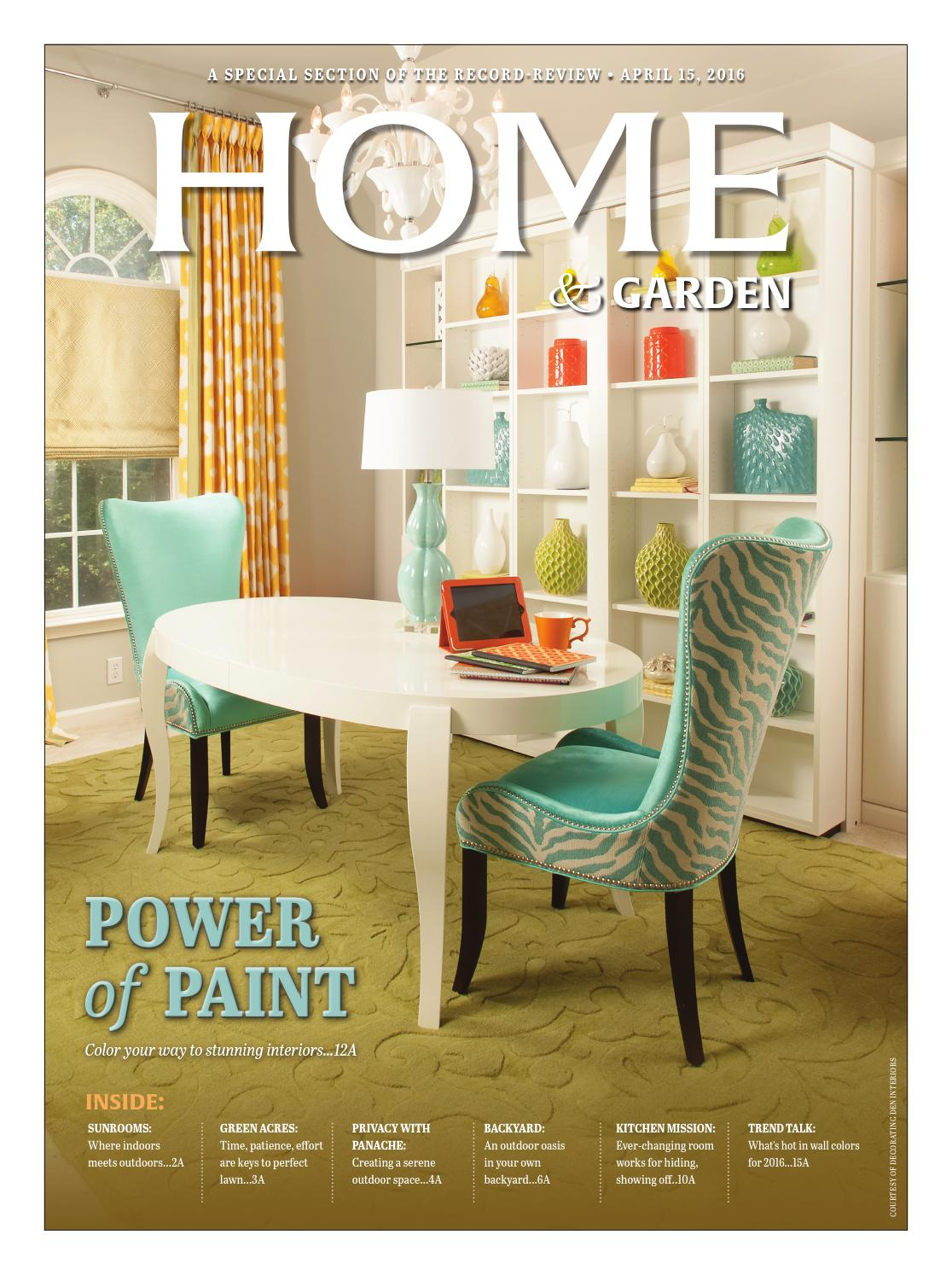 Record Review Home Garden 2016 By The