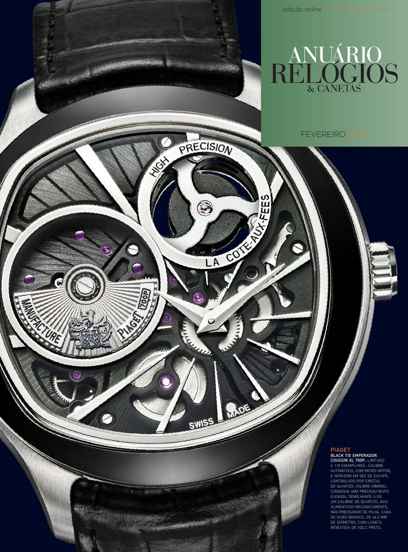 Anuário Relógios   Canetas - Fevereiro 2016 by Anuário Relógios   Canetas -  issuu aedf374b44b2