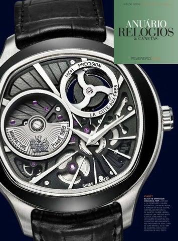 eb4b2db87c7 Anuário Relógios   Canetas - Fevereiro 2016 by Anuário Relógios ...