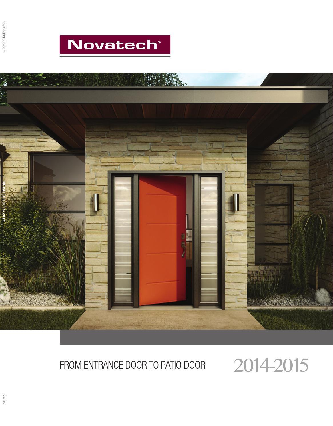 Novatech Door Catalog By Renova Window Amp Door Designs Issuu