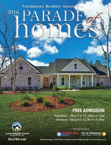 2017 tallahassee builders association parade of homes by tba