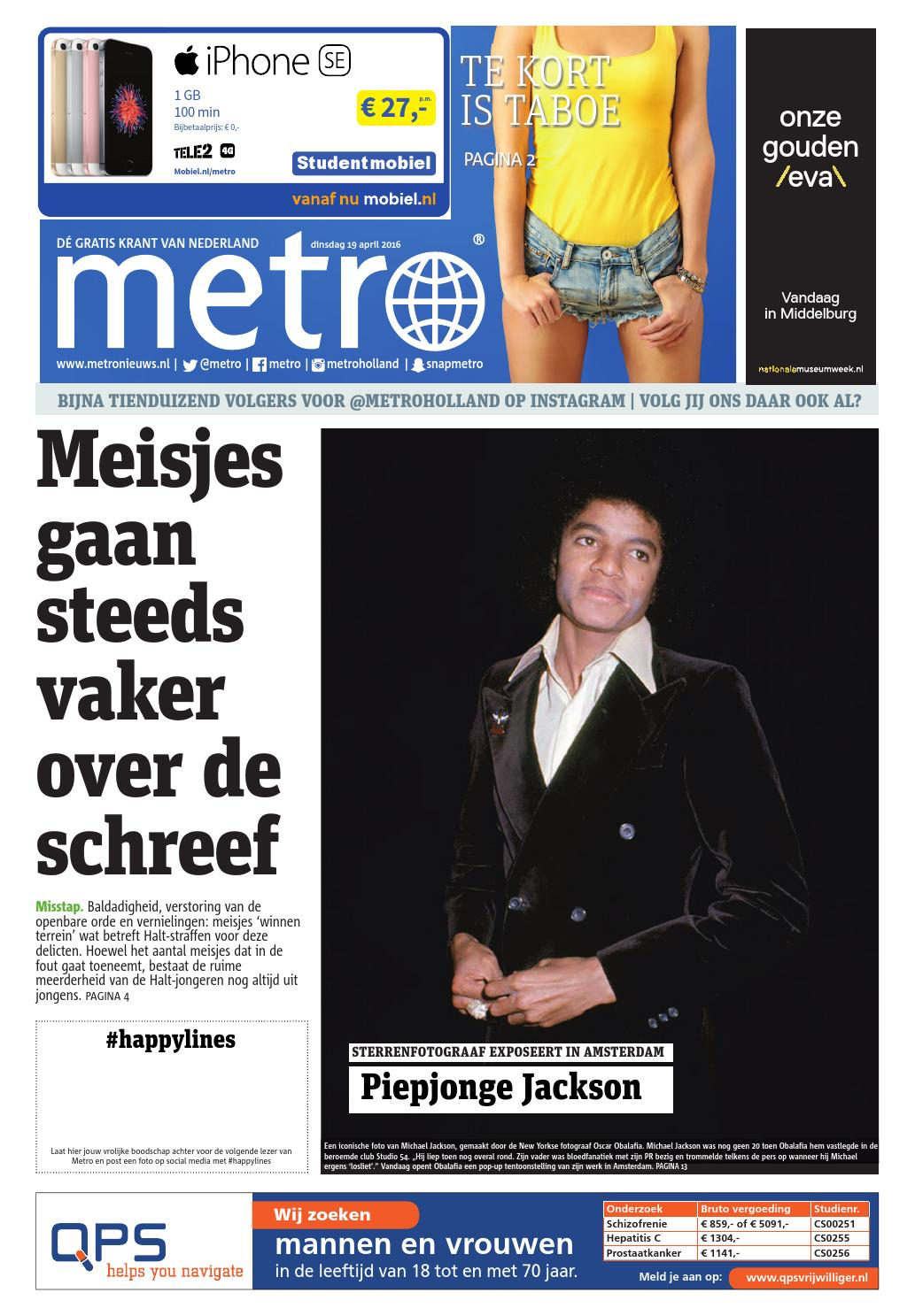 e618c3089a45a6 20160419 nl metro holland by Metro Netherlands - issuu