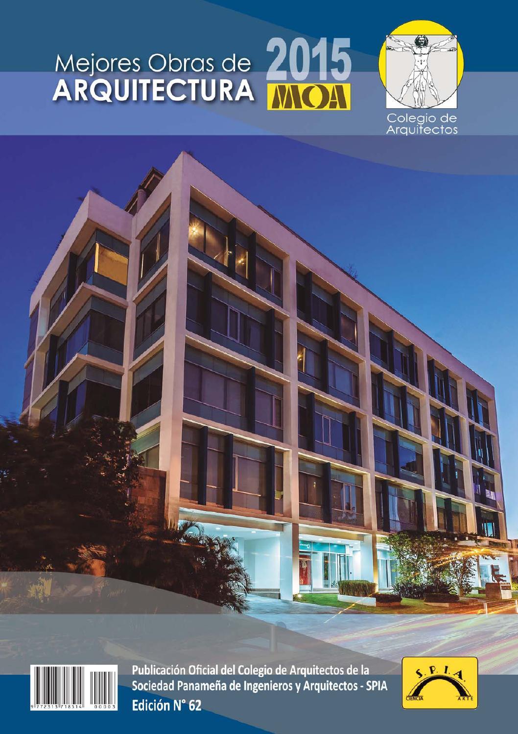 Revista mejores obras de arquitectura 2015 by guillermo for Arquitectos y sus obras