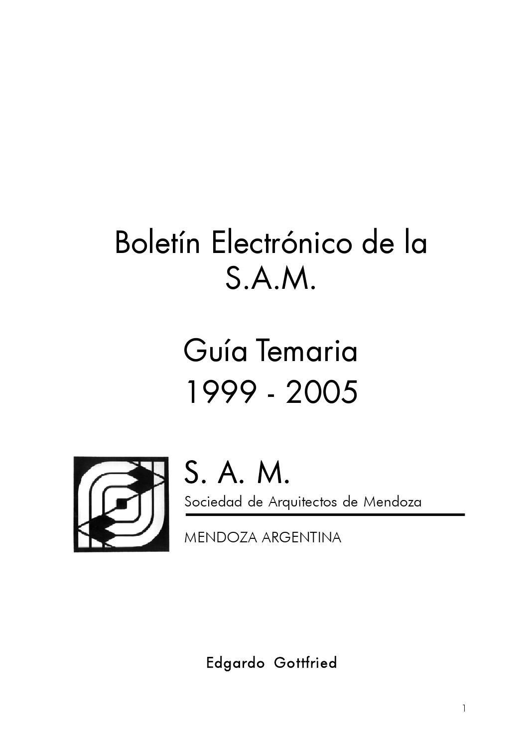 Boletin electronico de la sociedad de arquitectos de - Sociedad de arquitectos ...