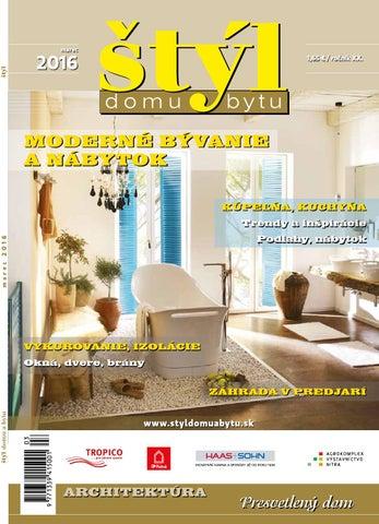 Styl domu a bytu 1 2016 by Styl - issuu c62bbc77c9e