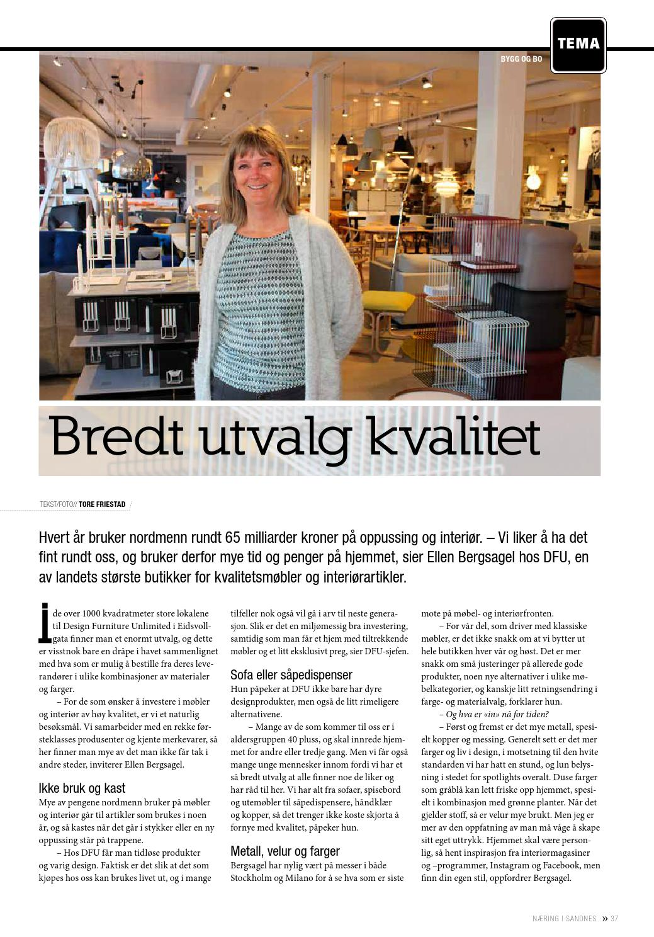 ede230d9 Næring i Sandnes 2-2016 by Lokomotiv Media - issuu