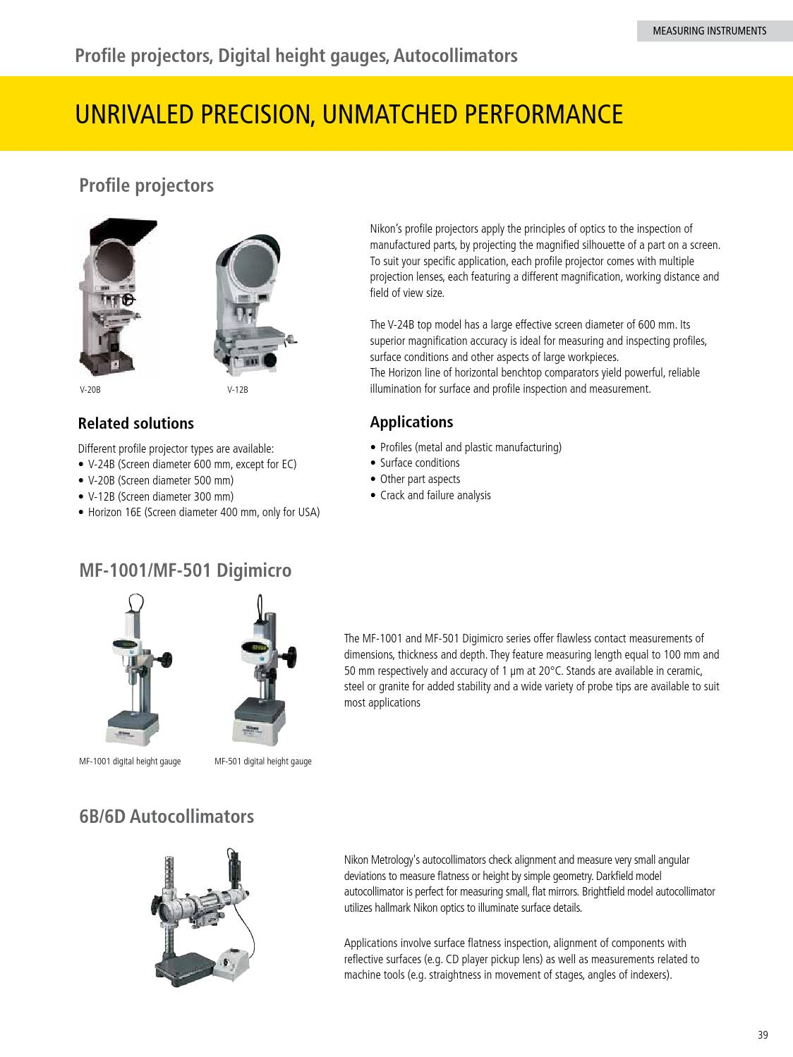 Nikon Metrology Solutions by Nikon - issuu