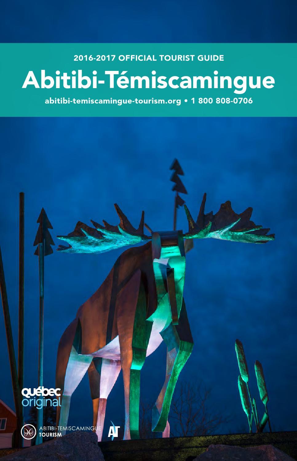 1c495633c34ec Official Tourist Guide 2016-2017 by Tourisme Abitibi-Témiscamingue - issuu