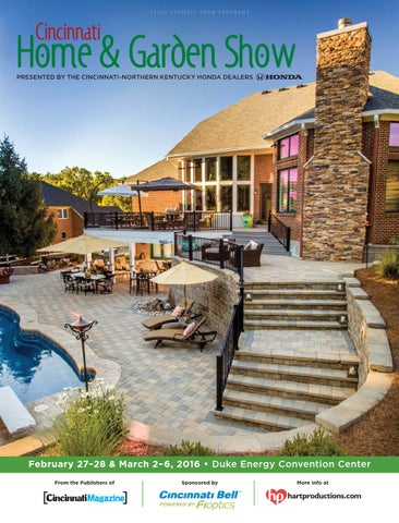 exquisite home and garden showplace. Page 1 Cincinnati Home  Garden Show 2016 by Magazine issuu