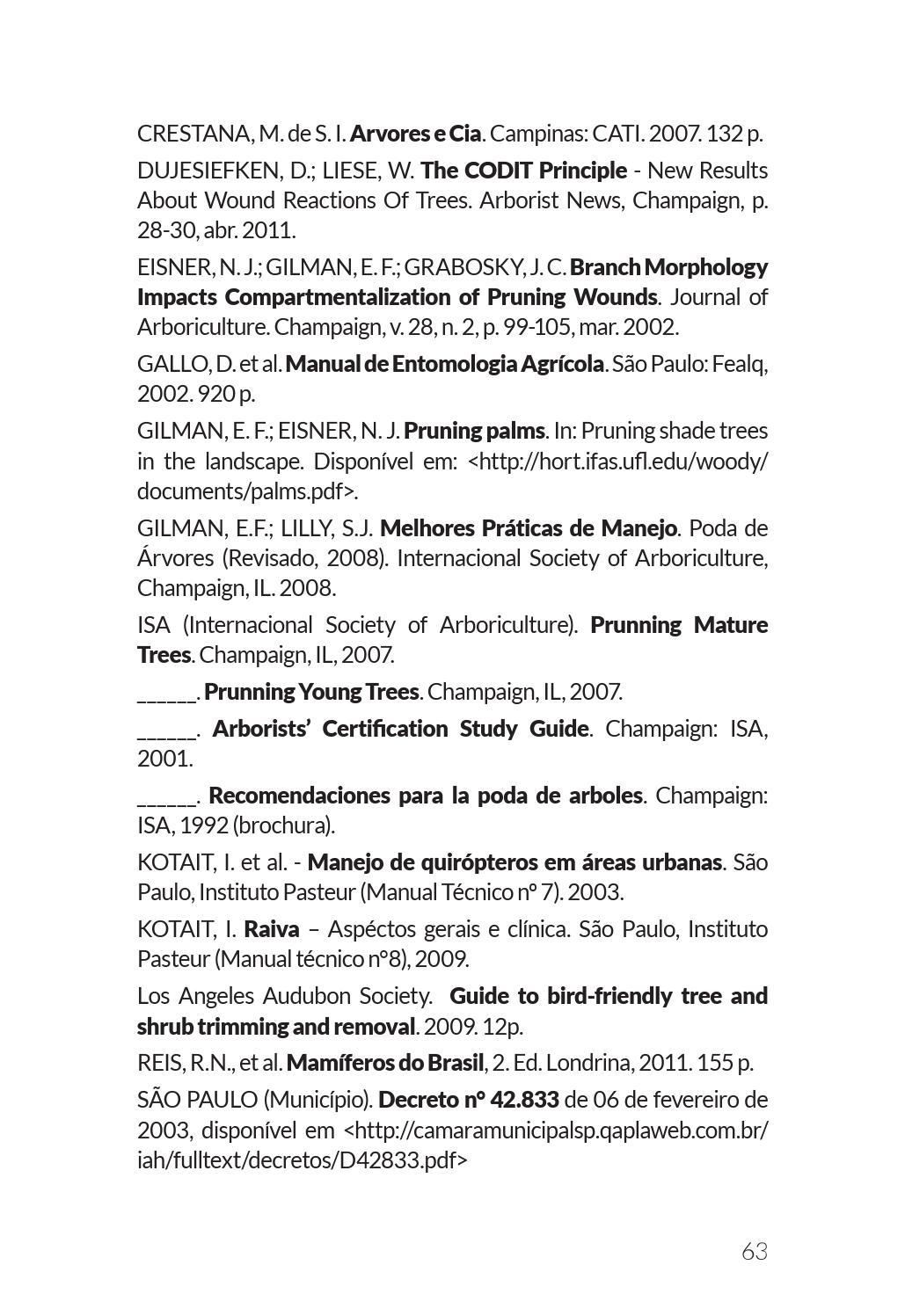 manual técnico de poda de árvores pdf