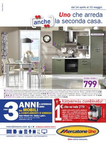 Mercatoneuno 15mag by volavolantino issuu - Cucina completa mercatone uno ...