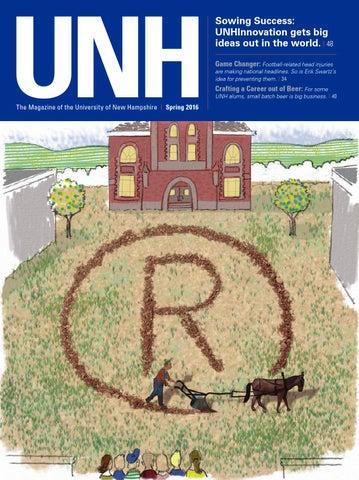 Unh Magazine Spring 2016 By University Of New Hampshire Issuu
