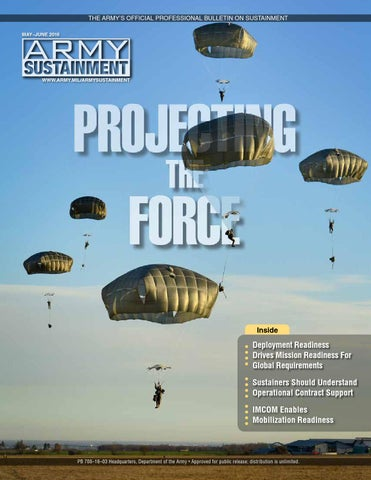 Army Sustainment May-June 2016 by Army Sustainment - issuu