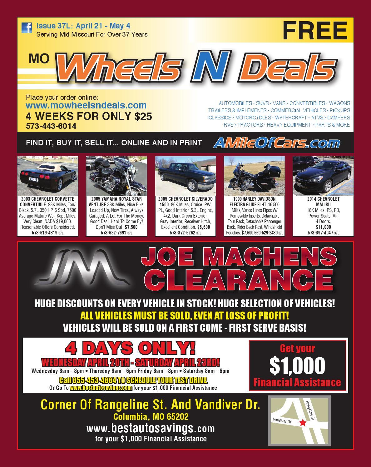 wheels n deals issue 37l by maximum media inc issuu