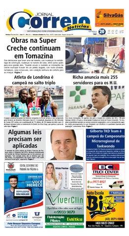 Jornal Correio Notícias - Edição 1447 (20 04 2016) by Jornal Correio ... 368b2c1c8f28f