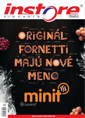 e4ec9ad6a3 In store slovakia november 2015 by IN STORE Slovakia - issuu