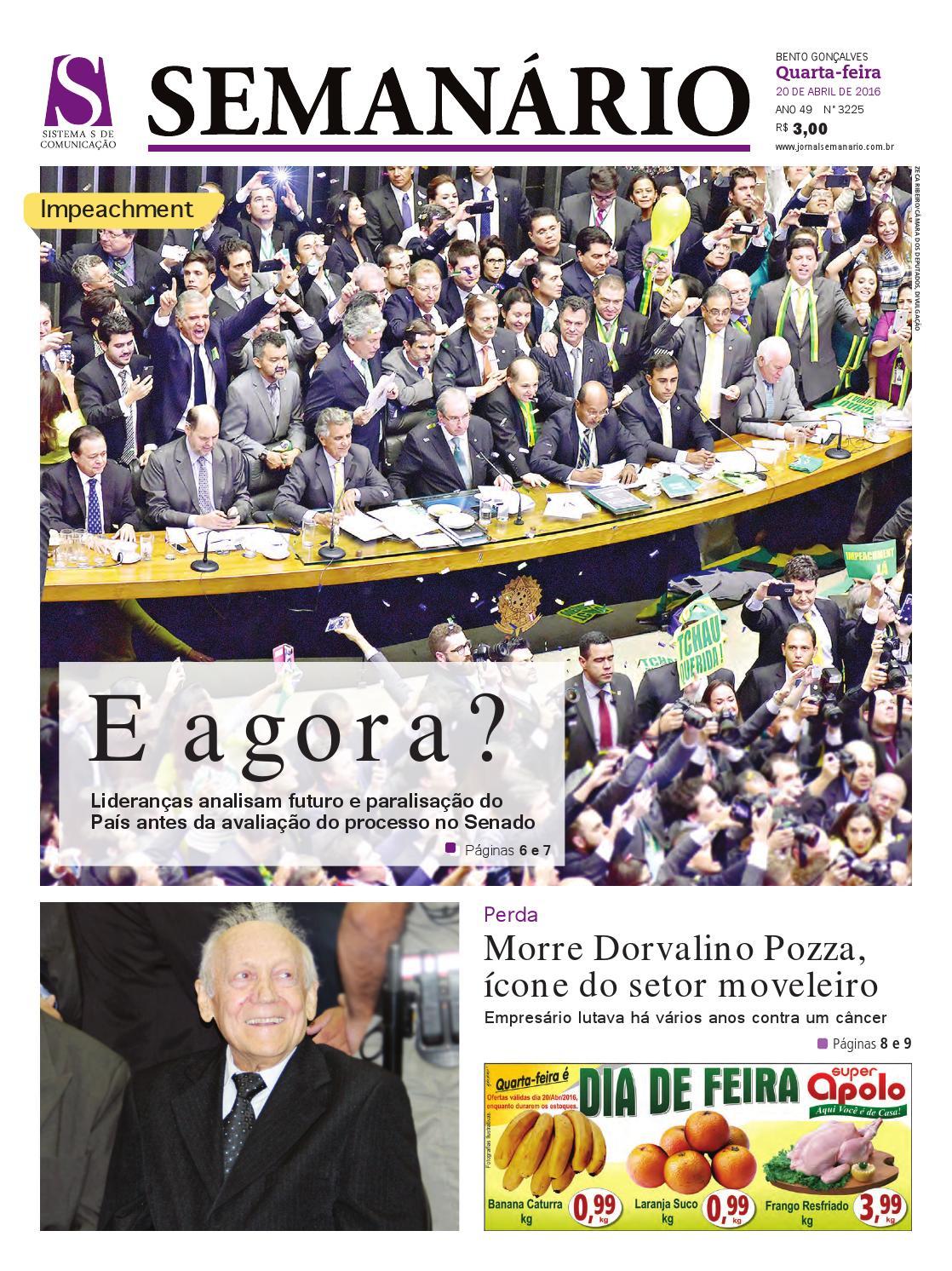 b4446be9c6889 20 04 2016 - Jornal Semanário - Edição 3.225 by Jornal Semanário - Bento  Gonçalves - RS - issuu