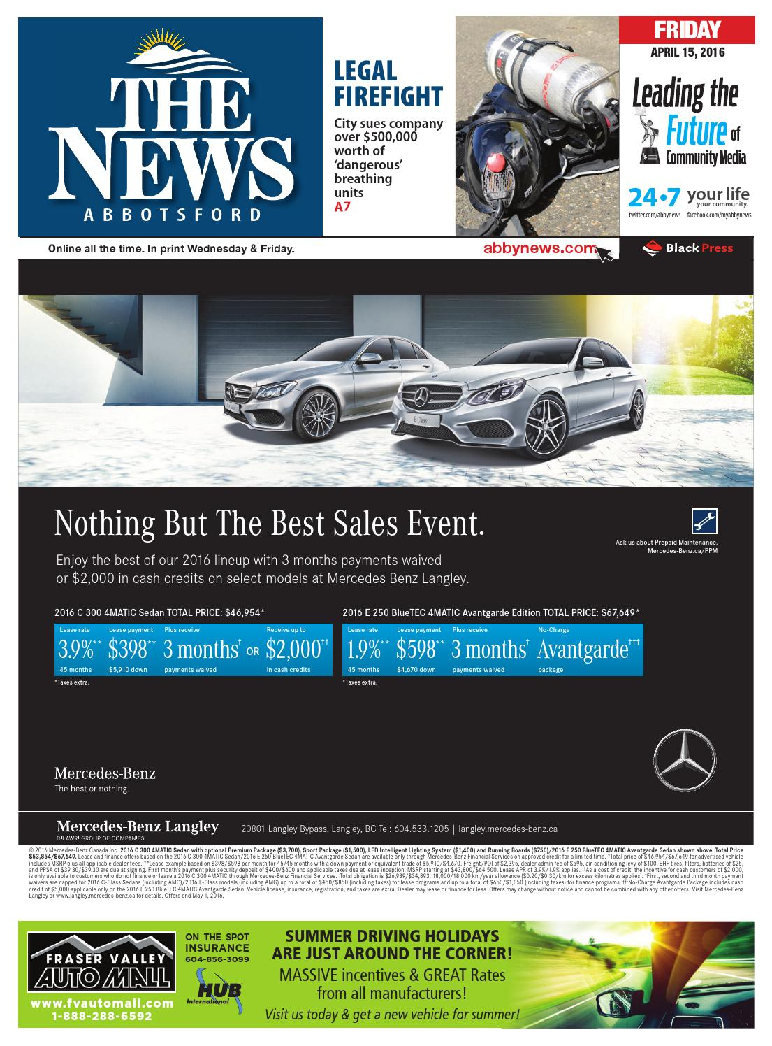 Abbotsford News April 15 2016 By Black Press Issuu Sumas Car Stereo Wiring Harness