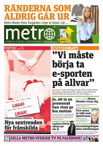 new product 5dbbf a3363 20160420 se stockholm by Metro Sweden - issuu