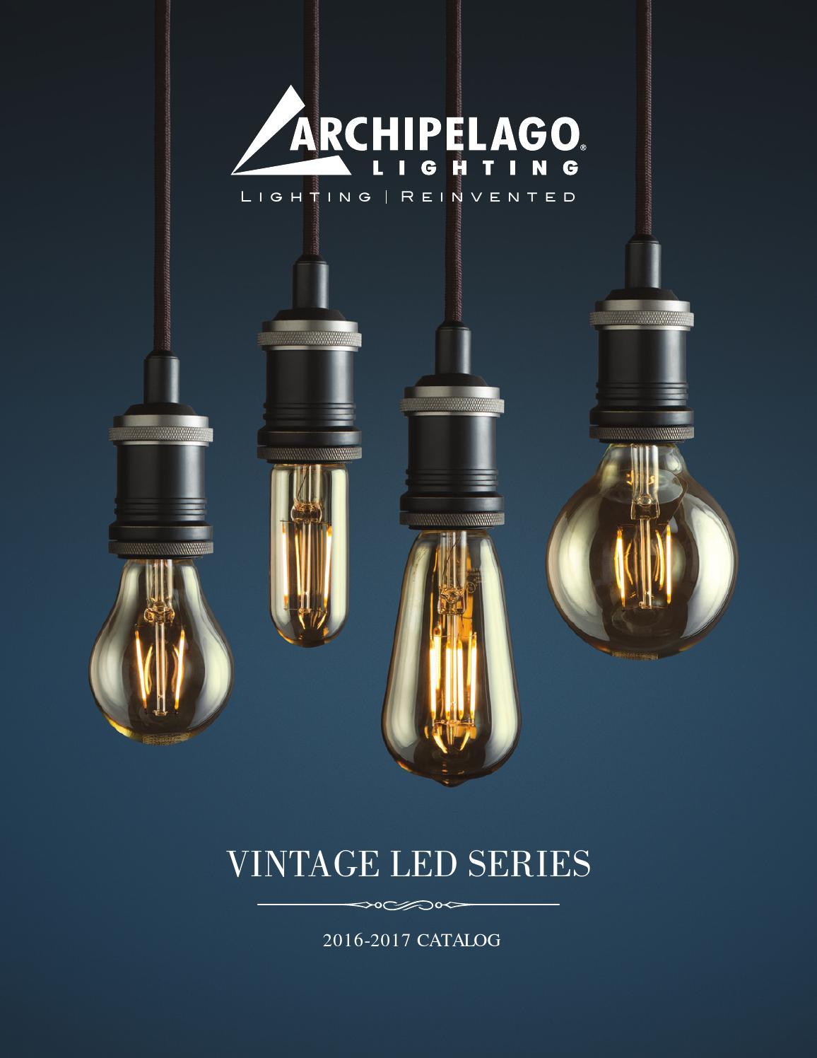 ARCHIPELAGO LIGHTING   Vintage LED Series Catalog by Archipelago Lighting - issuu & ARCHIPELAGO LIGHTING   Vintage LED Series Catalog by Archipelago ... azcodes.com