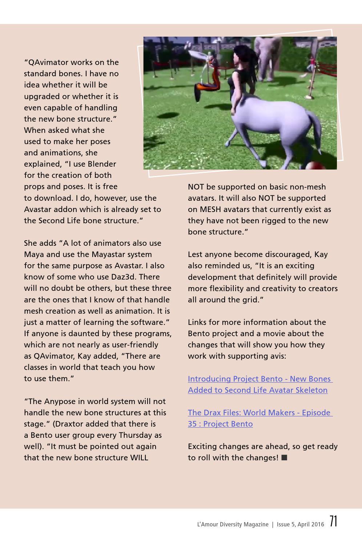 L'Amour Diversity Magazine - Issue 5 Apr 2016
