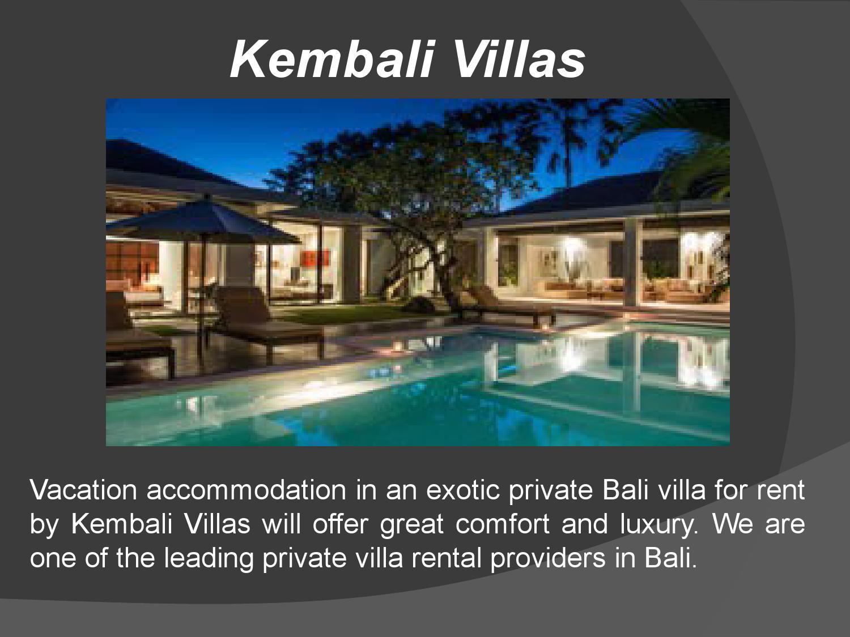 Kem Bali Villas By Kembalivillas Issuu