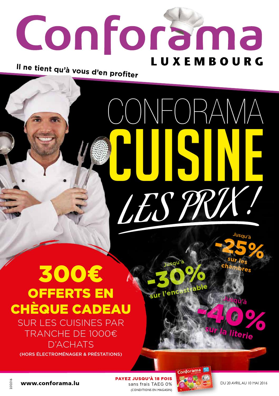 Doc 20 Conforama Cuisine Les Prix By Conforama Luxembourg