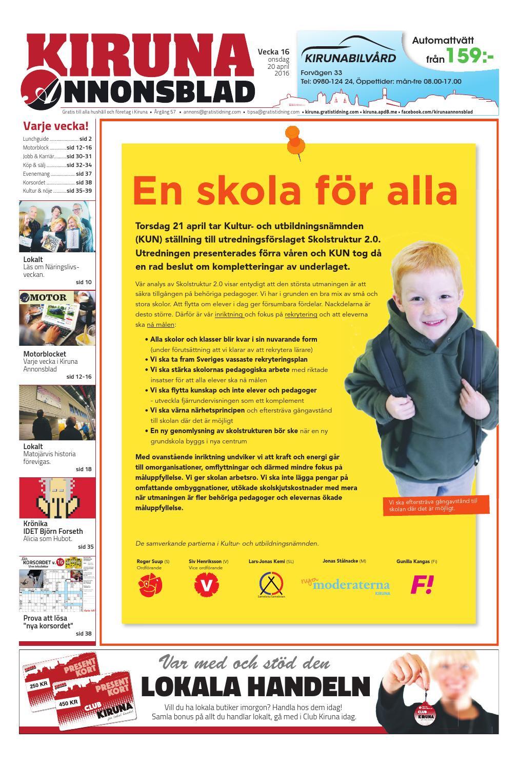 sale retailer c753f 5b0f8 Kiruna Annonsblad by Svenska Civildatalogerna AB - issuu