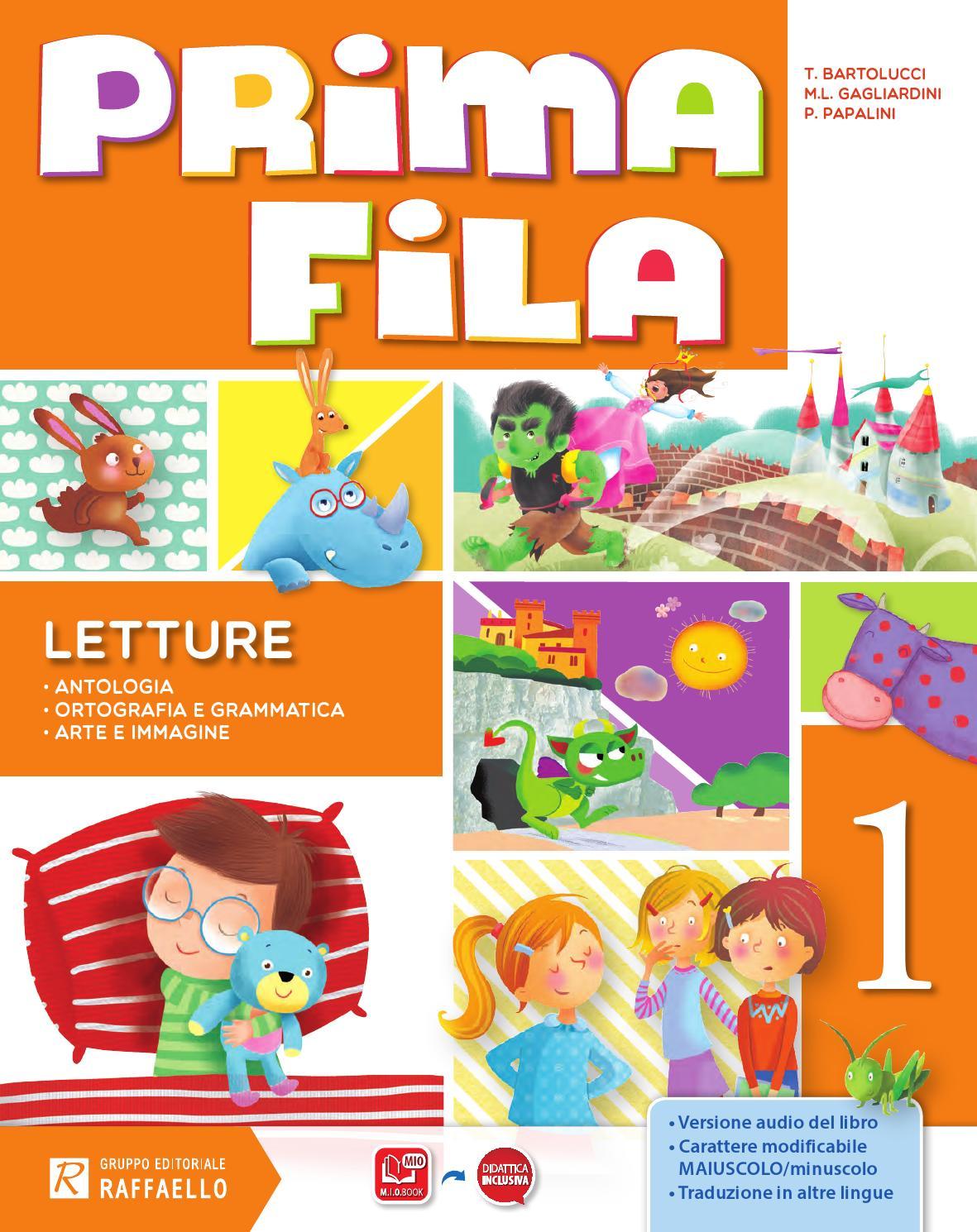 Super Prima fila - Classe 1 - Letture by Gruppo Editoriale Raffaello - issuu RZ91