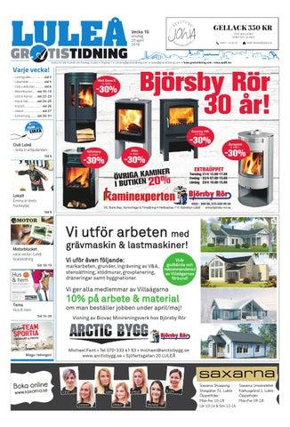 new product 05b38 ee662 Luleå Gratistidning med Team Sportia bilaga