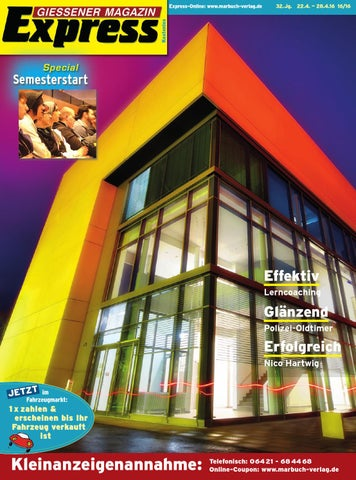 Gießener Magazin Express 162016 By Ulrich Butterweck Issuu