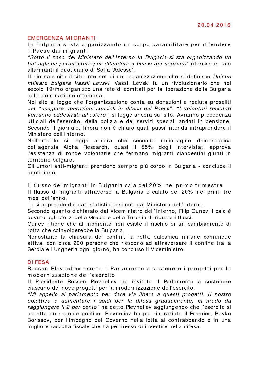 News ccib 20 04 2016 by camera di commercio italiana in bulgaria issuu - Agenzia immobiliare sofia bulgaria ...