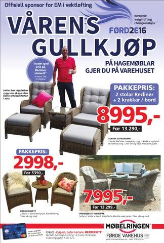 Utrolig Møbelringen Førde. Vårens Gullkjøp. by findriv AS - issuu DH-46