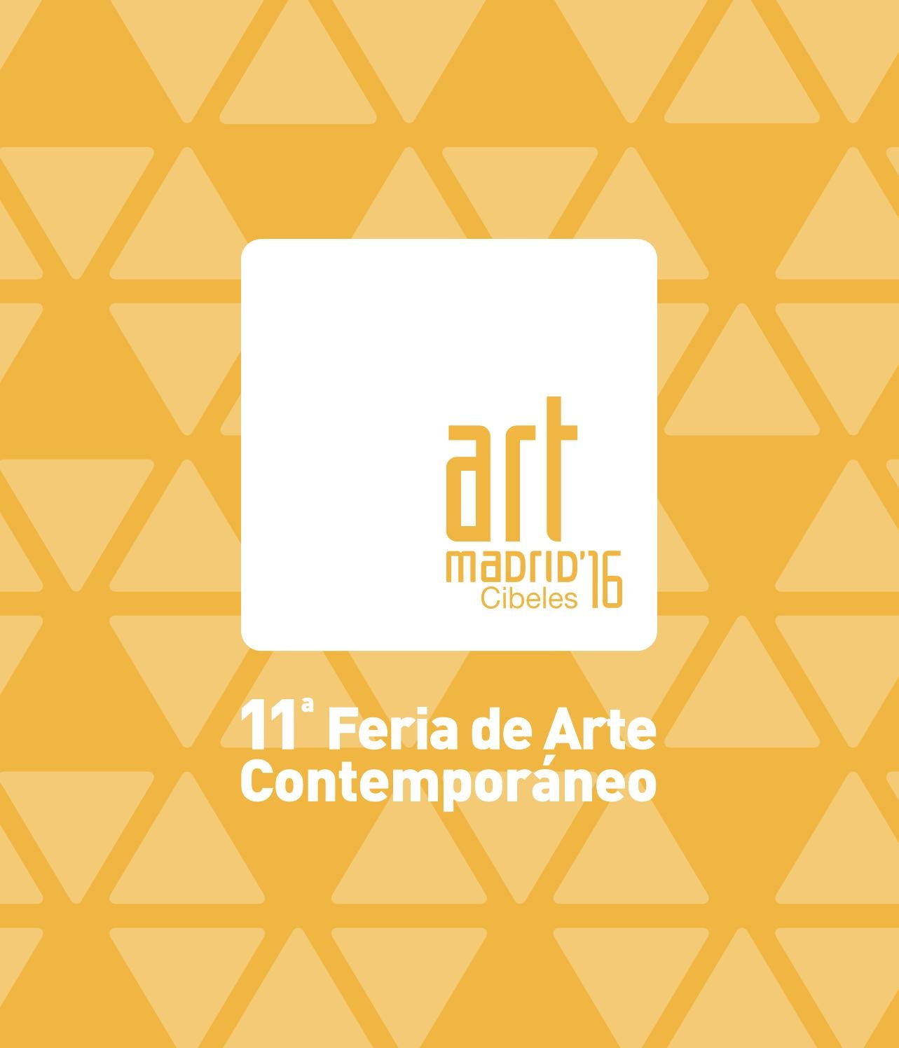 Art Madrid 16 Cat Logo 11 Feria De Arte Contempor Neo By Art  # Puigdorfila Muebles