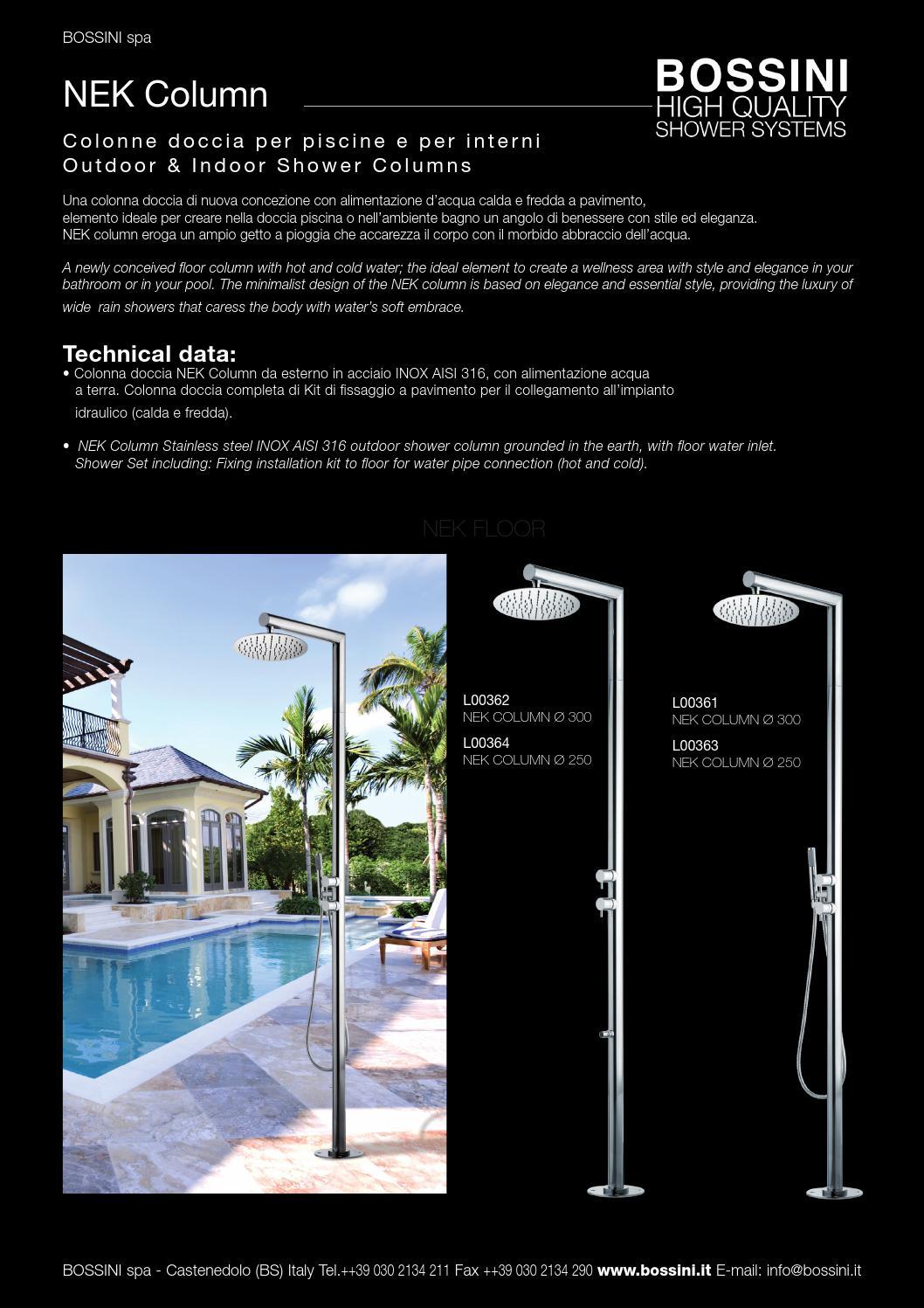 Piscine En Inox Steel And Style nek columnbossini spa - issuu