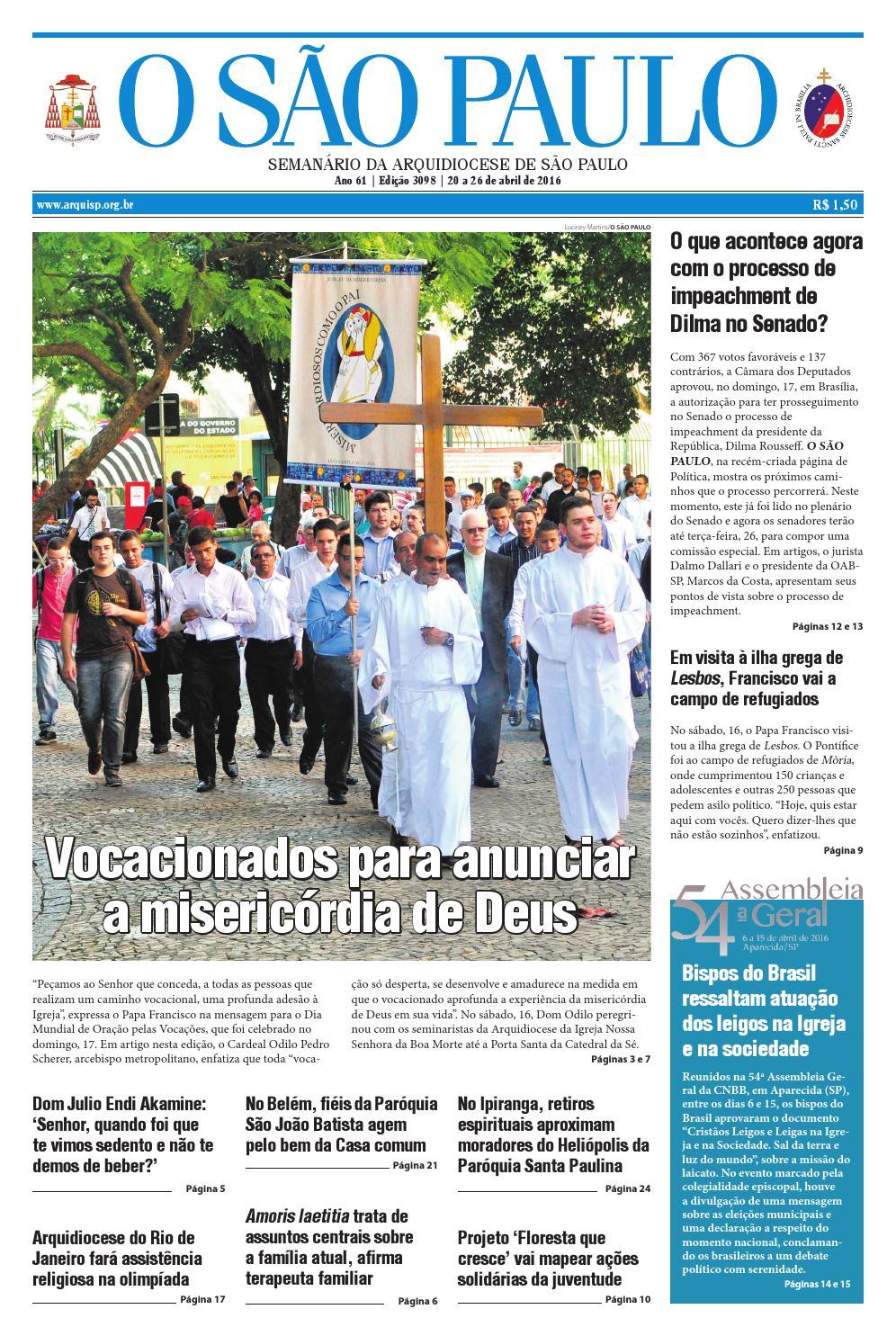ba66fea99 O SÃO PAULO - 3098 by jornal O SAO PAULO - issuu