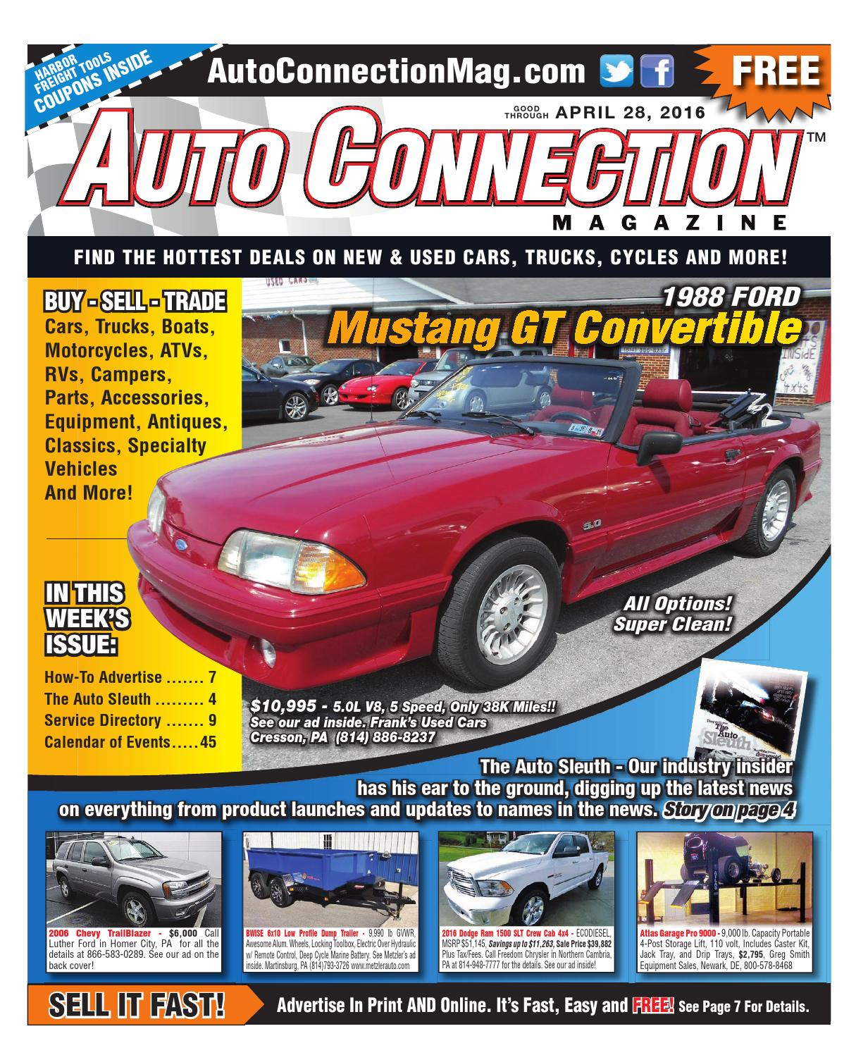 04-28-16 Auto Connection Magazine by Auto Connection Magazine - issuu