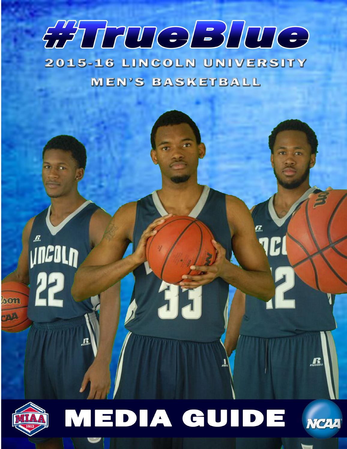 2015-16 Lincoln (MO) Men's Basketball Media Guide by ...